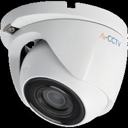 Telecamera A-CCTV minidome 4 in 1 (cvi, tvi, ahd e analogico) da 2 megapixel e ottica fissa