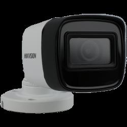 Telecamera HIKVISION PRO bullet 4 in 1 (cvi, tvi, ahd e analogico) da 8 megapíxeles e ottica fissa