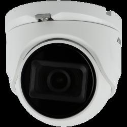 Telecamera HIKVISION PRO minidome 4 in 1 (cvi, tvi, ahd e analogico) da 8 megapíxeles e ottica fissa