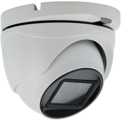 Telecamera A-CCTV minidome 4 in 1 (cvi, tvi, ahd e analogico) da 8 megapíxeles e ottica zoom ottico