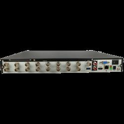 Registratore 5 en 1 (hd-cvi, hd-tvi, ahd, analógico y ip) DAHUA per 16 canali e 8 mpx di risoluzione massima